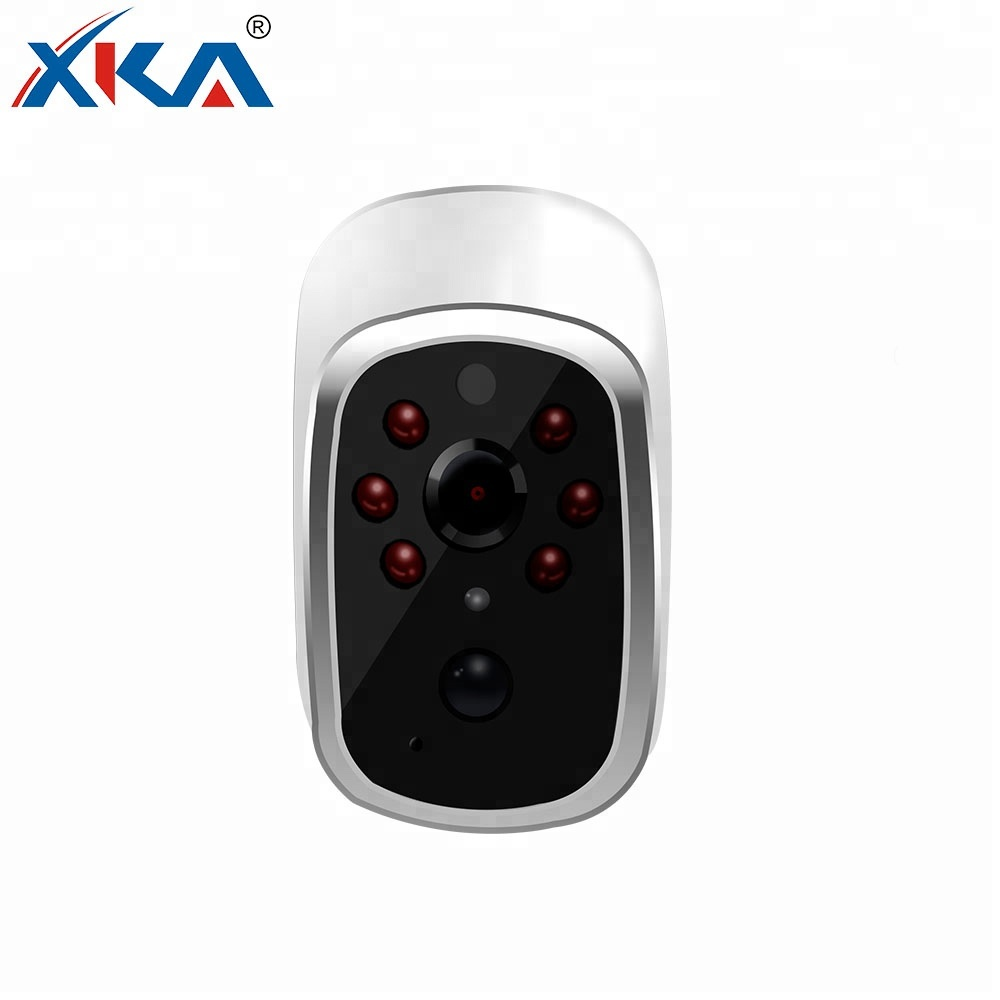 Waterproof 1MP Portable Wireless Wifi Security IP Camera With Battery