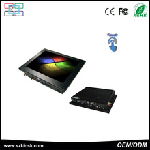 10.4 inch lcd monitor fanless pc