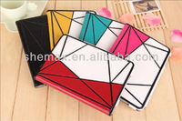 Professional factory supply 3d case for ipad case ,for ipad mini 2 wallet purse case