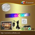 RGB SMD5050 High brightness full colors ultra-thin LED display panel programmable sign