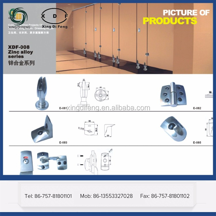 hpl/compact laminate/toilet partition , Zinc Alloy coat stand