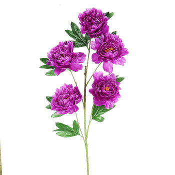 Yiwu cheap wholesale 120cm large silk 5 heads artificial flowers yiwu cheap wholesale 120cm large silk 5 heads artificial flowers purple peony for home decoration mightylinksfo