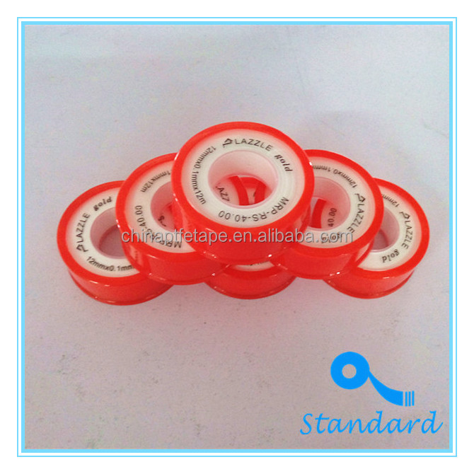 Hot selling 100% ptfe thread seal tape standard teflon tape in Malaysia