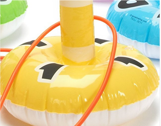 eco-friendly PVC inflatbale ring toss kids game