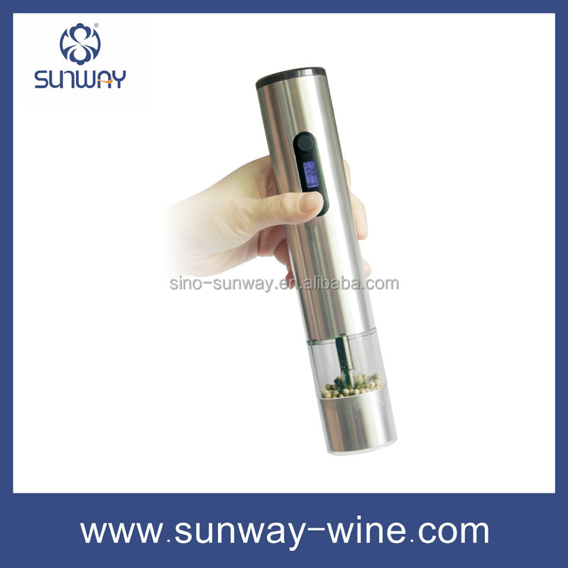 Electric wine opener gift set small electric vacuum pump