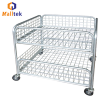 Bulk Storage Cage OEM Wire Promotion Container Manufacturers