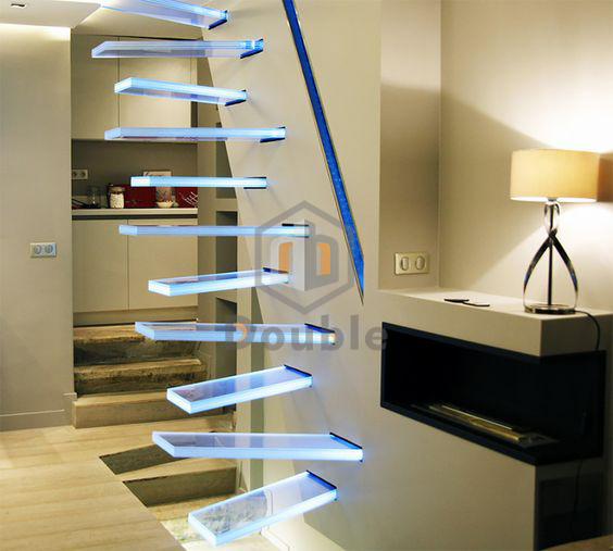 Indoor Floating Glass Staircase, Indoor Floating Glass Staircase Suppliers  And Manufacturers At Alibaba.com