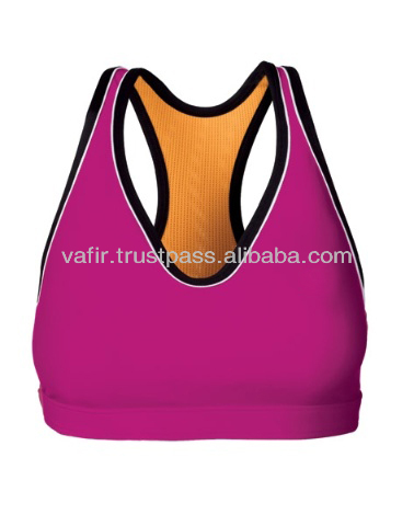 Best Price competitive attractive lady compression sports bra