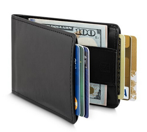 Boahiho shopping websites cow leather wallet rfid