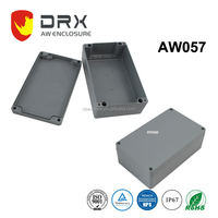 ip67 outdoor Die Cast extrusion electrical control box Aluminium Waterproof enclosure with Cable Gland