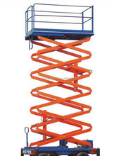 Hydraulic motorcycle mobile scissor lift table with CE certificate WLY0.5-8