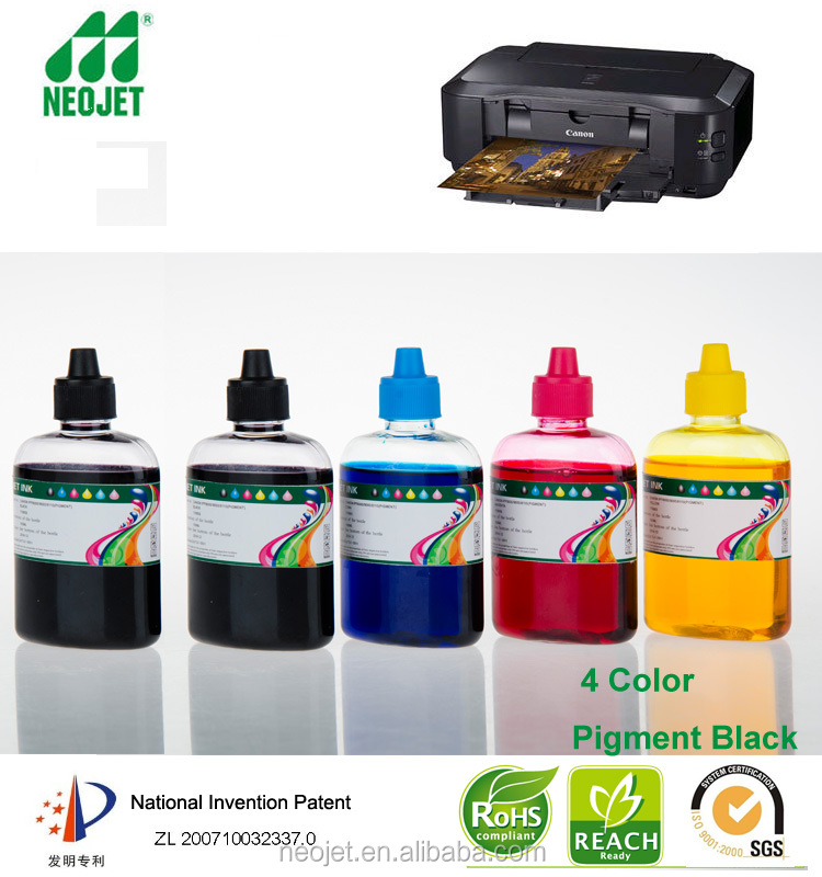 100ml bottle refill photocopy ink color water based ink for canon mx860 pixma seriesrecycle cartridge CLI 221 PIG 220