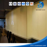 Low Opaque -Transparent Switchable Window Tint Smart Glass Film/Pdlc Switchable Privacy Electronic Film