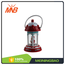Santa claus christmas gift electric lantern funny light toy with music