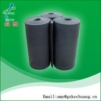 waterproof closed cell heat insulation NBR foam rubber adhesive Sheet