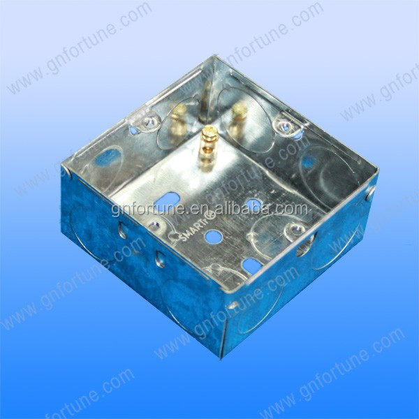 Gold China Supplier small electrical metal switch box / cable ...