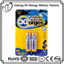 Low Price Aluminum Foil LR6 Size AA AM3 1.5V Battery