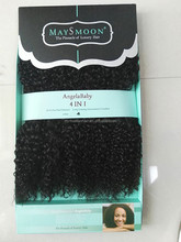 Angelababy animal hair weft hot selling in African