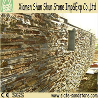 New type cheap natural textured stone wall tile for wall cladding