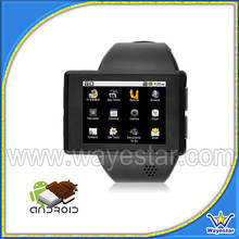 2.0 inch Single Sim Android Smart Watch Phone WIFI 1G/4G MTK6515 Low Cost