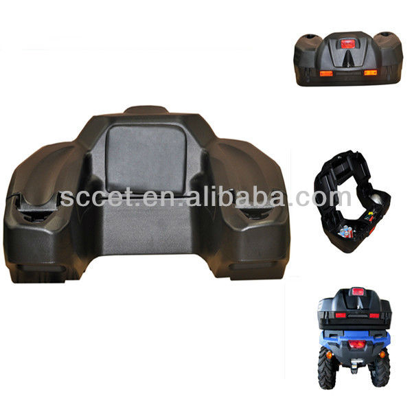 chinese atv parts,ATV Rear Wrap Box with Backrest