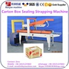 High speed Carton Case Sealing strapping packing Machine 5050KZ made in China