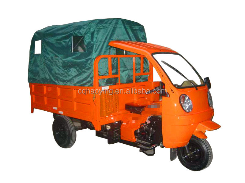 High quality air cooled new hard canvas tricycle for sale
