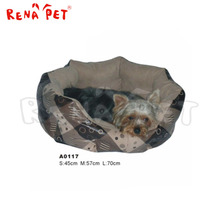 A0117 Wholesales fashionable Luxury pet beds, dog soft round bed/house