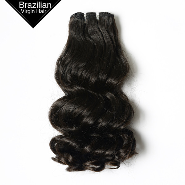 100% Unprocessed VIRGIN HAIR Natural Brazilian Remy Human Cheap Long Curly Hair Weave