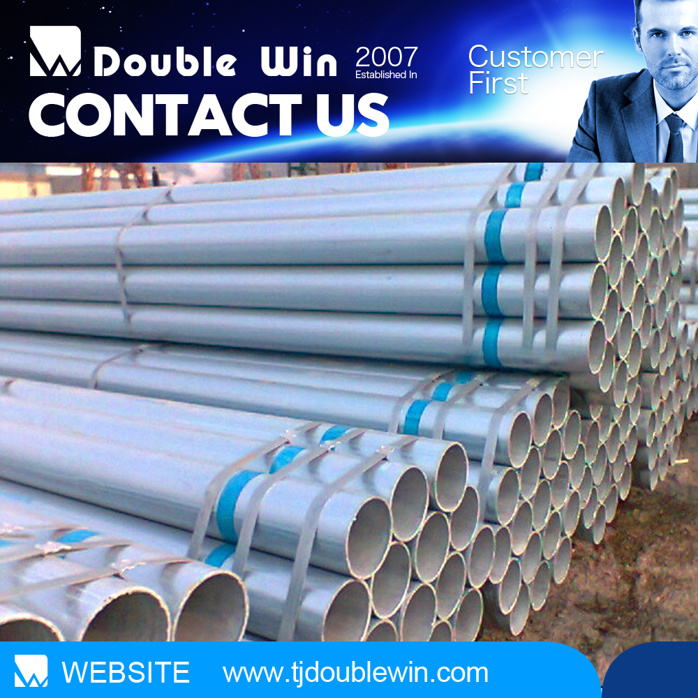China Supplier Hot Dip Galvanised Pipe G.I. Pipe with Good Factory