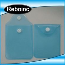 Book plastic name card bag in PVC,VINYL material D-CC075
