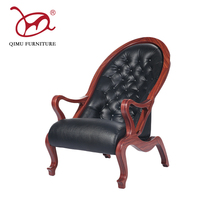 High back comfortable resting lounge bent wood chair