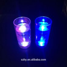 60ML LED water sensor activate split shot glass