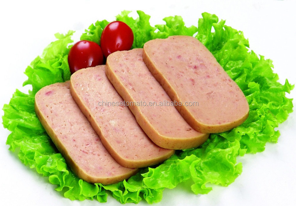 HALAL chicken luncheon meat, canned beef, pork luncheon meat