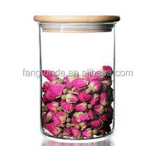 Glass Jar, Food Jar, Kitchen Storage Can with Hermetic Seal