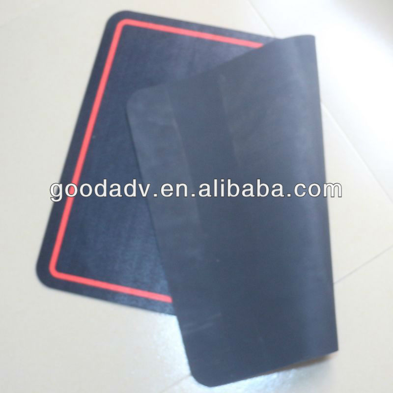 Custom design with high quality promotional gifts Fabric anti-slip rubber floor mat