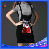 Women Computer Knitted Europe Brand Pure Cashmere Sweater Twin Set
