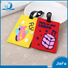 Soft pvc rubber logo custom luggage tag