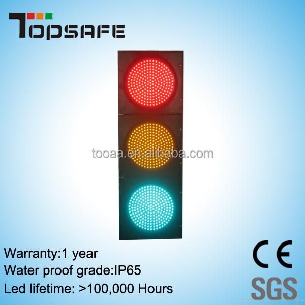 300mm Led Vehicle Directional Traffic Signal Light