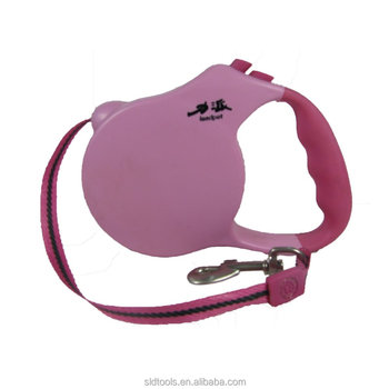 heavy-duty nylon leash retractable dog leash