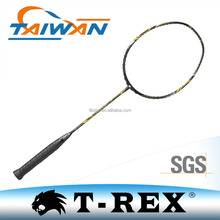 2017 new style customized colors carbon fiber badminton racket