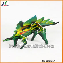 Wholesale Cute Cartoon Dinosaur 3D Puzzle Game Toy
