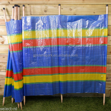 8 Pole Wind Break With PE Fabric