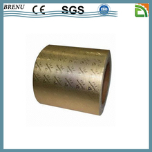 gold metallic aluminum foil paper price for cigarette packaging soft inner layer