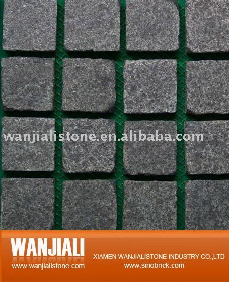 Mesh back pavers