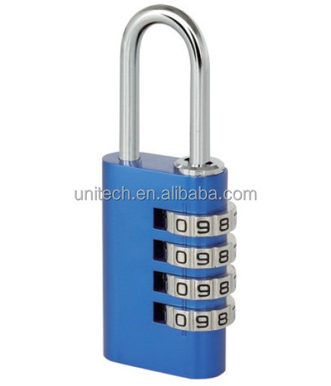 21mm 4 dial small lock,mini combination padlock