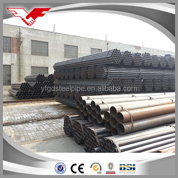 China Wholesale round carbon <strong>q195</strong> q235 erw welded steel tube/pipe for distributors