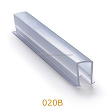 Aluminium doors and windows accessories u-shaped plastic edge trim strip