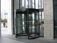 manual antipanic revolving door