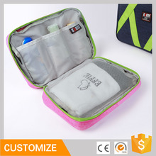 BUBM Customized hanging cosmetic folding travel bag for women